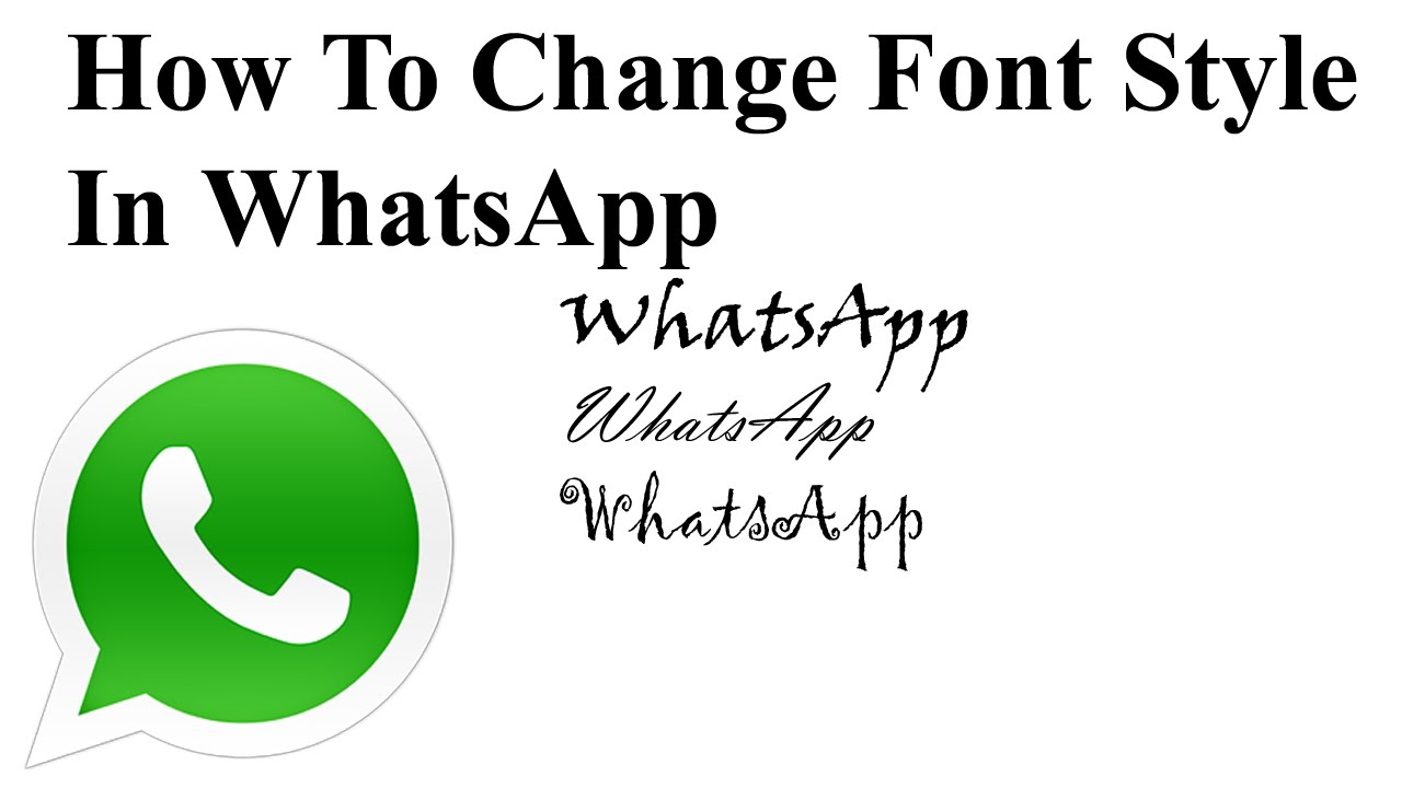 change-whatsapp-font-style-android