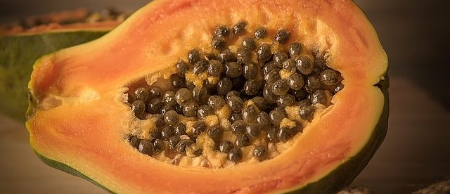 whiten private parts using Papaya