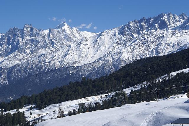 Auli hills