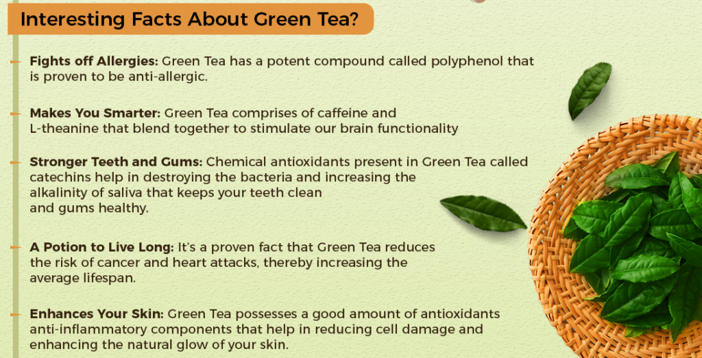 fact about green tea
