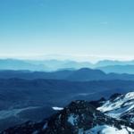 hiking up Mount Hua
