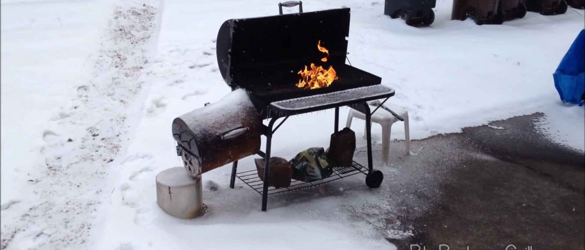 Image result for bbq grill in snow