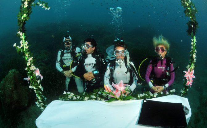 Largest Wedding Underwater