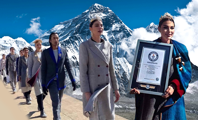 Mount Everest Fashion Runway