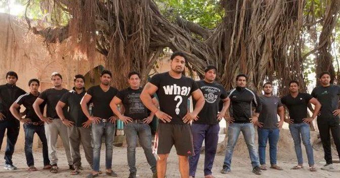 Indian bouncer village