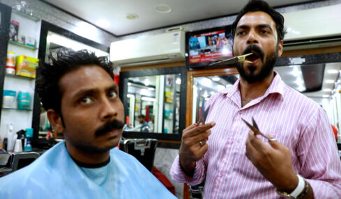 Mouth- barber