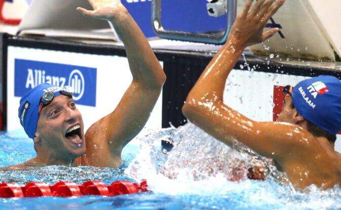 Paralympics swimmer