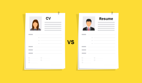 cv vs resume difference
